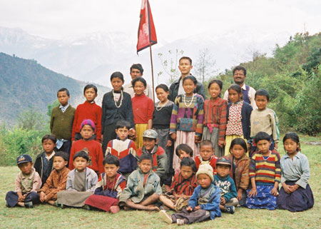 Jimmy and the Kids of Bandang School